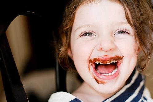 Chocolate Raspberry English Muffins