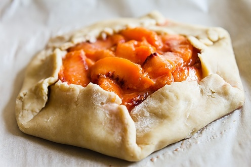 how to make a peach galette