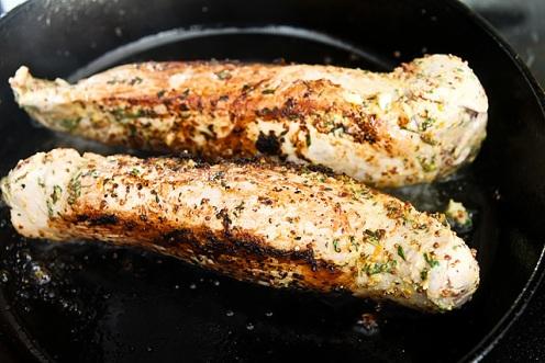 Prosciutto Herb Pork Tenderloin