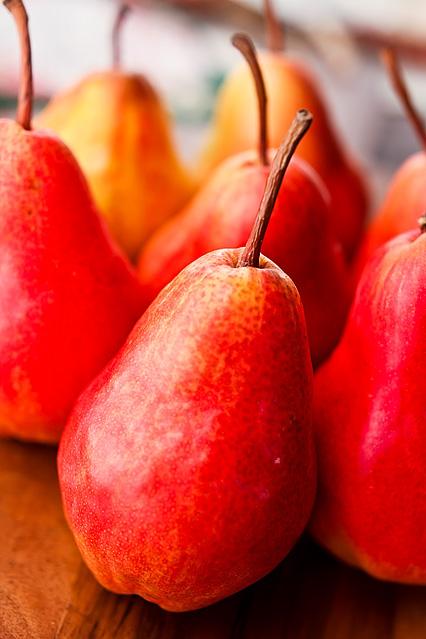 Carmelized Vanilla Pears