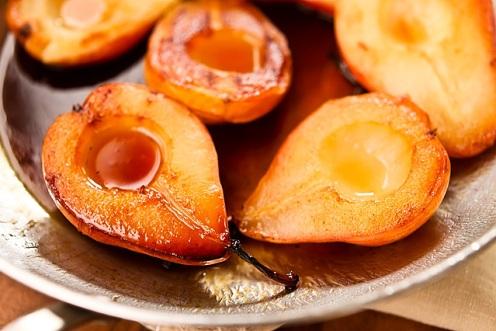 Carmelized Pears